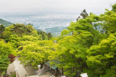 大山阿夫利神社・下社からの眺望